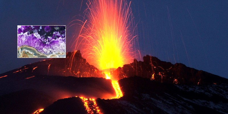 Volcanologie – Minéralogie